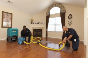 Water Removal from Wood Flooring